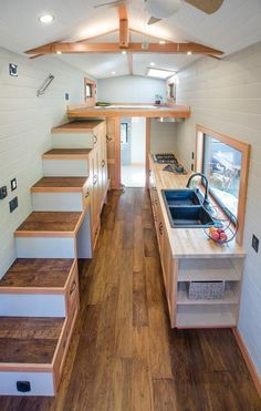 Tiny House Interior - Kestrel by Rewild Homes