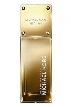 24K Brilliant Gold Michael Kors for women/Gardenia Scent.