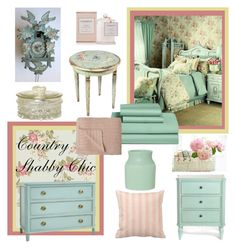 """""""Country Shabby Chic"""" by girlieques ❤ liked on Polyvore featuring interior, interiors, interior design, home, home decor, interior decorating, Graham & Brown, Nordstrom, David Jones and Shabby Chic"""