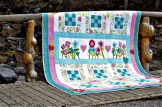 My quilt I call Carina. It was featured in a Quilter's World special interest publication Special Interest, Quilts, Blanket, Blankets, Patch Quilt, Kilts, Log Cabin Quilts, Comforter, Comforters