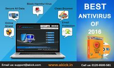 #Akick #Best #Free #Computer #Antivirus #Software is a impressive tool to check out  your computer when you want to find and remove v#irus and #trojans from your #system. https://www.akick.in/antivirus.php