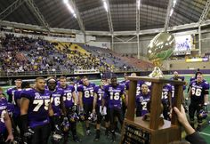 This is the biggest trophy the UNI Panthers won in Football!!!!