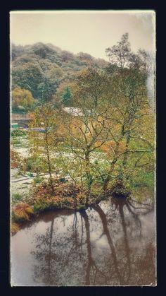 Late Autumn in Hebden Bridge