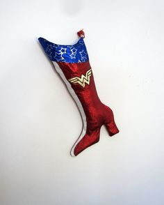 Wonder Woman Christmas Stockings