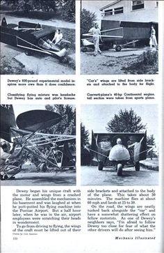 THE CAR THAT FLIES (Nov, 1955)