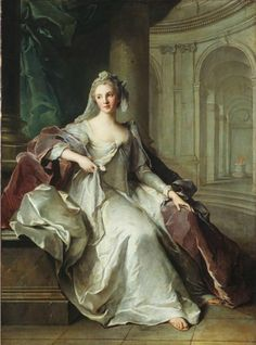 Portrait of Henriette Anne of France (1727-1752), as a Vestal Virgin | Jean-Marc Nattier (1749)
