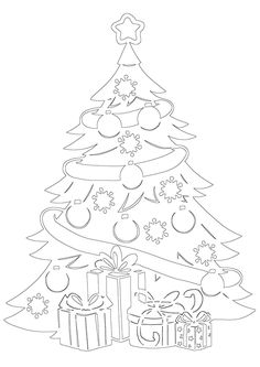 Christmas Colors, Christmas Art, Christmas Projects, Handmade Christmas, Paper Cutting Patterns, Stencil Patterns, Stencil Designs, Cardboard Crafts, Paper Crafts