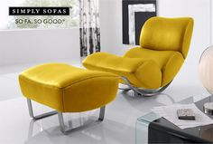 Koinor Jetlag swing recliner with a matching footstool. Now you can float in the air. NOW ON SALE. Up to 30% off. #recliner #couch #Chair #furniture #sofas #furnituresale #sale #discount #bargain #offers #simplysofassale #sofasogood #decor #interiors  Visit: www.simplysofas.in/recliner