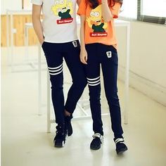 Buy 'Evolu – Couple Striped Sweatpants' with Free International Shipping at YesStyle.com. Browse and shop for thousands of Asian fashion items from China and more!