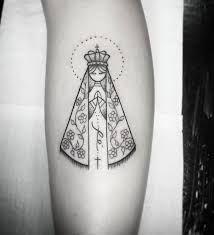 Resultado De Imagem Para Tatuagem De Nossa Senhora Aparecida