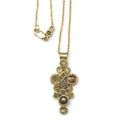 Pendant/Necklace   Todd Reed.  18k Gold and Raw Diamonds