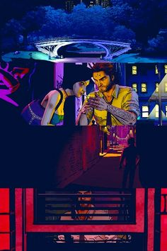 The Wolf Among Us with colors. Fables Comic, Best Fairy Tales, The Wolf Among Us, Infamous Second Son, Vertigo Comics, Neon Noir, Mad Father, Night In The Wood, Big Bad Wolf
