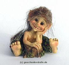 Leif Tytterud the dreamer, original Norwegian forest troll (Tytter)