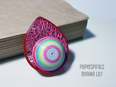 Quilled Paper Ornament  Christmas by PaperSpirals on Etsy, €11.00