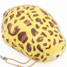 Puni Maru yellow jumbo leopard mochi seal scented squishy