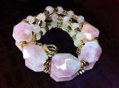 Collar Morganita y Cuarzo rosa