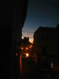 Sunset in Nepi (Italy)