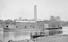 Early Civil War opening shots near Vicksburg, Mississippi on January 13th 1861 were fired at the steamboat, the A O Tyler which was thought to be carrying Union related supplies.