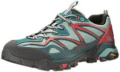 Merrell Capra Sport Shoe Womens Dragonfly 6 *** Visit the image link more details. (This is an affiliate link) Trekking Shoes, Hiking Shoes, Thick Socks, Merrell Shoes, Comfy Hoodies, Trail Running Shoes, Running Women, Athletic Shoes, Image Link