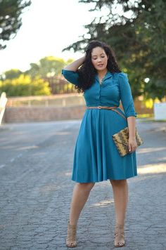 "pinner said: ""I just love her!  She has an awesome shape and sense of style. she's a plus size style icon""  yes!"