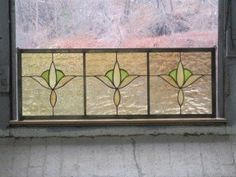 This is a cute, simple cottagey transom type of panel