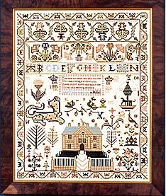 The Scarlett Letter - ISABEL REDIE 1816 Scottish Sampler