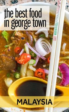 George Town is famous as one of the best places for street food in Malaysia. You'll find so many places to eat in George Town - at little stalls, local restaurants, and fine dining. I have spent some time exploring and these are my tips for the best things to eat in George Town in Penang, Malaysia.