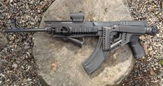 Great Looking FAB defense equipped VZ58. Great rifle. Great equipment.