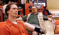 Steve Buscemi Brings A 'Big Lebowski' Moment To Women's March Steve Buscemi, The Big Lebowski, Bowling, Movie Tv, Bring It On, Leather Jacket, Poses, In This Moment, Actors