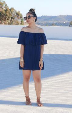 Dress: dee elle; Shoes: Old Navy; Sunglasses: Nordstrom; Bracelet: Target