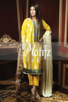 FunFashion1-Fashion Show Mall and Bridal Dresses Online : Women Winter dresses 2014-2015 | Motifz Winter Outfits for Young Women