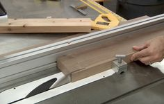 Learn to cut beautiful large coves on the table saw using a shop-made  parallelogram cove jig.