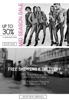 BSB Fashion Newsletter-F/W 15/16 - MID SEASON SALE-Subscribe for more >> www.bsbfashion.com