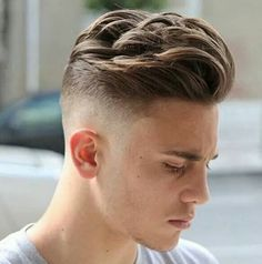 25 cool haircuts for men - Hairstyle Man Best Short Haircuts, Cool Haircuts, Haircuts For Men, Modern Haircuts, Hair And Beard Styles, Curly Hair Styles, Comb Over Haircut, High Fade Haircut, Great Hair