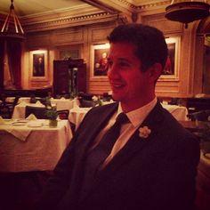 Our good friend Mr Alex Bluett, East India Club, Piccadilly, London.  A delightful evening.