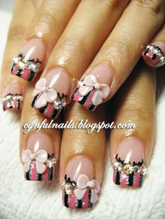 all of them is a bit much but just the ring fingers would be perfect!  taking this to the nail girl