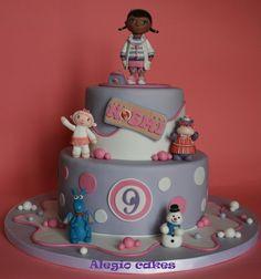 doc mcstuffins cake | Doc mcstuffins - by Alegiocakes @ CakesDecor.com - cake decorating ...