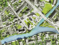 MVRDV Wins Competition in France with Residential Development Inspired by Rock Formations,Masterplan. Residential Complex, Residential Architecture, Image Paris, Plan Maestro, Win Competitions, Paris Images, Site Plans, France, Master Plan