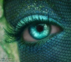 I see in Aqua eyes Mermaid Eyes, Mermaid Tale, Mermaid Makeup, Ariel Mermaid, Mermaid Lagoon, Fairy Makeup, Foto Face, Crazy Eyes, Mermaids And Mermen