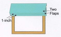 Excellent directions to make a faux roman shade valance!