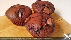 Erdnussbutter Brownie Muffin