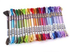 DMC New Variegated 6 Strand Floss  1 each of all door AncoraCrafts, $32.40