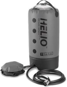 Outdoor Adventure Gifts for the Road Tripper: NEMO Helio Pressure Shower - a must for car camping and extended road trips. Also came in handy at Burning Man