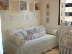 Enxoval de Bebê - Kit cama da Babá, confeccionado por Maete Atelier. Para encomendar envie um e-mail para teresi@globo.com