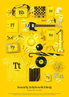 ABC Easy Speaking - branded collateral | Designer: TomatDesign - http://tomatdesign.com