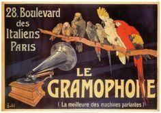 Das Grammophon Kunstdrucke von Charles Bombled - AllPosters.at