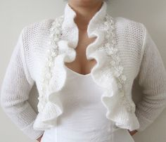 Knitted Wedding Bolero