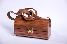 Handcrafted Designer Wooden Bags with adjustable genuine leather strap , very light in weight , strong long lasting , water resistant and durable Wooden Bag, Cape Town, Strong, Water, Bags, Design, Gripe Water, Handbags