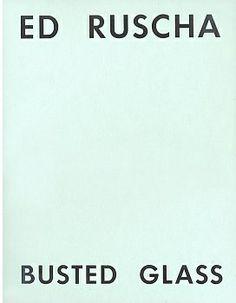 Ed Ruscha, Busted Glass