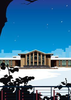 Today'sJiyu Gakuen Myonichikan — Frank Lloyd Wright